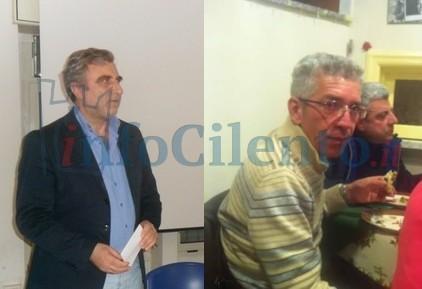 A sinistra Francesco Lombardo a destra Giovanni Chirico